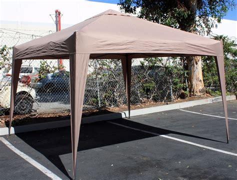 ft ez pop  white canopy gazebo  party wedding event folding tent econosuperstore
