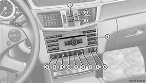 Mercedes La Centrale : mercedes benz classe e partie sup rieure de la console centrale console centrale du premier ~ Medecine-chirurgie-esthetiques.com Avis de Voitures