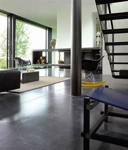 Vernis Béton Ciré : le vernis ciment aspect b ton cir aquar thane syntilor ~ Premium-room.com Idées de Décoration