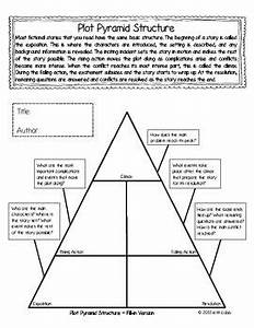 plot pyramid freebie graphic organizer with guiding With story pyramid template