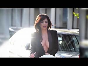 Kim Kardashian ne cache rien sans soutien-gorge sur Orange ...