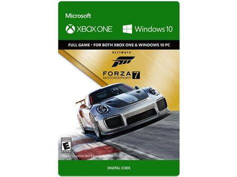 forza motorsport 7 ultimate edition forza motorsport 7 ultimate edition xbox one windows 10 digital code newegg