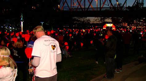 walk for cancer survivors lights up night wkrc
