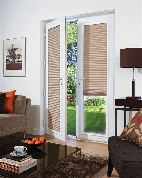 patio doors with blinds bamboo shades for patio doors window treatments design ideas