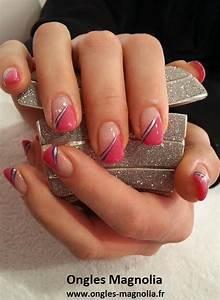 French Manucure Couleur : decoration ongle gel couleur ~ Nature-et-papiers.com Idées de Décoration