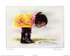 African American Children Art Prints