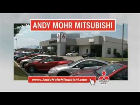 Andy Mohr Mitsubishi by Andy Mohr Mitsubishi Tv Commercial August 2016