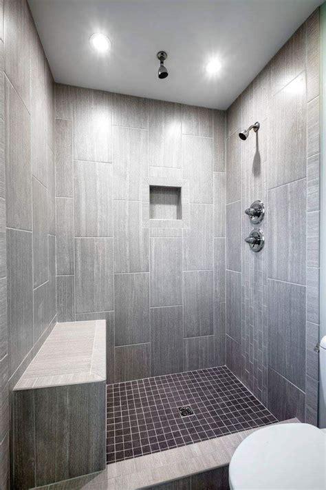 leonia silver tile  lowes tiled shower bathroom