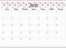Calendario Para Bajar Junio 2016 Calendar Template 2018