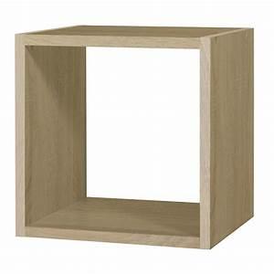 Cube De Rangement Mural : rangement 1 case ch ne pm rubyx cube etag re tablette ~ Dailycaller-alerts.com Idées de Décoration