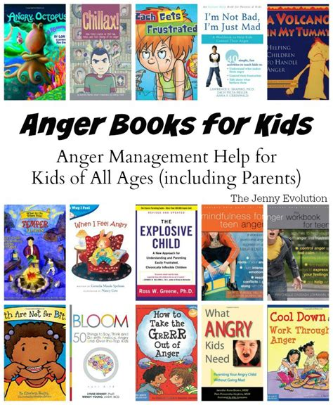 anger books for helping children of all ages 382 | AngerBooksforKids