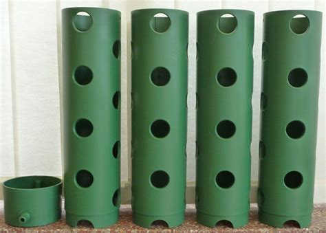 Polanter Vertical Gardening System by Vertical Strawberry Growing Systems Polanter Vertical