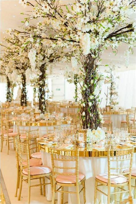 flower side table diy tree centerpiece for wedding reception table ideas