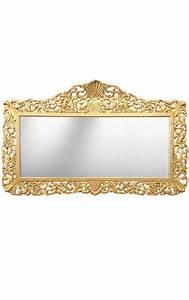 Miroir Baroque Doré : enorme miroir de style baroque en bois dor ~ Teatrodelosmanantiales.com Idées de Décoration
