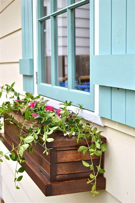 window box planter ideas  designs