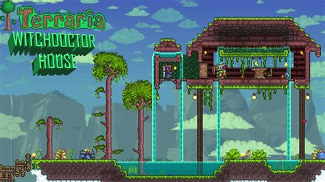 terraria     epic witch doctor house youtube