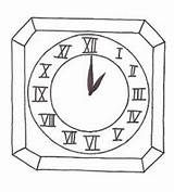 Clock Coloring Pages Grandfather Printable Alarm Drawing Face Getdrawings Cloring Adults Getcolorings Labels sketch template