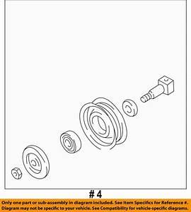Nissan Oem 119230w003 Drive Belt Idler Pulley 11923
