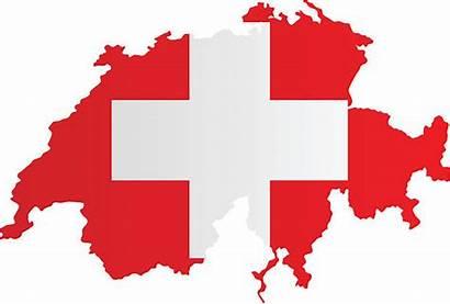 Swiss Flag Clip Switzerland Illustrations Vector Map