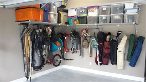 Garage Storage Bars by 1000 Images About Garage Shelving Ideas On