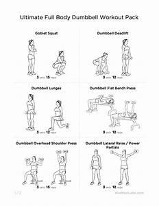 Full Body Dumbbell Workout      Workout  U2013 Renske Veldhuis Com