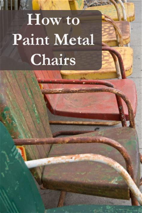 how to spray paint metal furniture fabulous metal