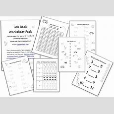 Worksheets To Accompany The Bob Books Set 2  Homeschool Den