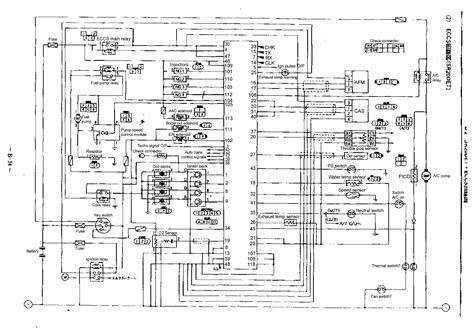 nissan page 2 circuit wiring diagrams