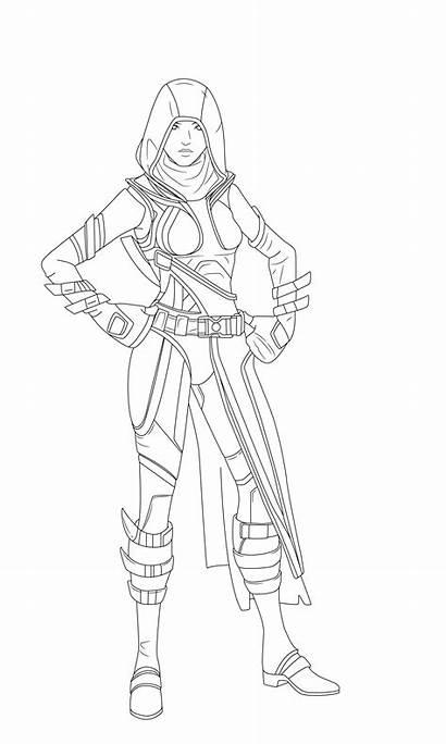 Fortnite Coloring Raider Renegade Draw Printable Dibujos