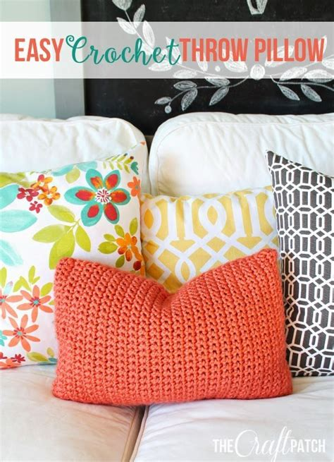 crochet throw pillow 20 diy yarn projects for this winter pretty designs