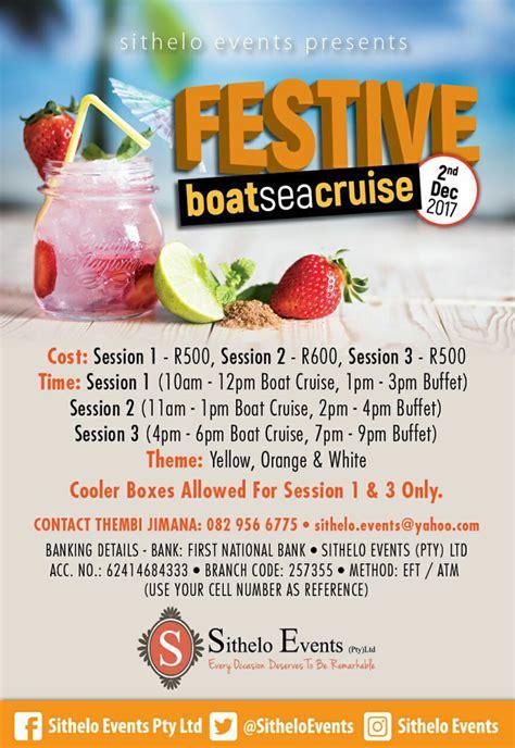 Boat Cruise Restaurant Durban by Festive Boat Sea Cruise Durban Durban