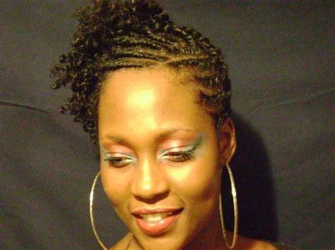 Black Hairstyles With Twists In The Front by Flat Twists Hairstyle Updo Front Thirstyroots