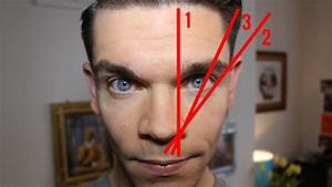 Men's Eyebrow Tutorial | How To Shape, Pluck and Trim ...