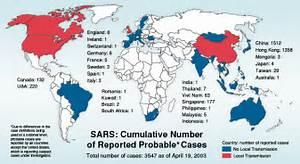 Severe Acute Respiratory Syndrome; Respiratory Syndrome, Severe Acute Severe Acute Respiratory Syndrome (SARS)