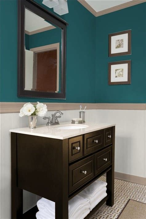 Teal Color Bathroom by Teal Powder Room Bathrooms Teal Bathroom