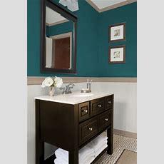 Teal Powder Room  Bathrooms  Pinterest  Teal, Bathroom