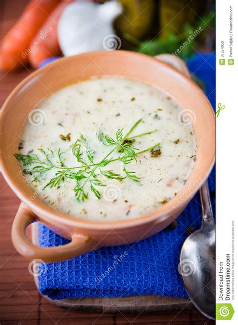 cucumber soup with sour sour and tasty cucumber soup stock photo image 37674050