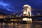 Travel Trip Journey : Széchenyi Chain Bridge in Budapest ...