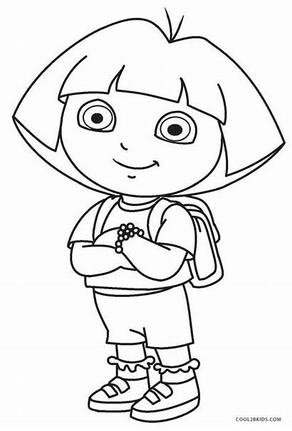 Dora Coloring Pages Diego Cool2bkids Printable Colouring
