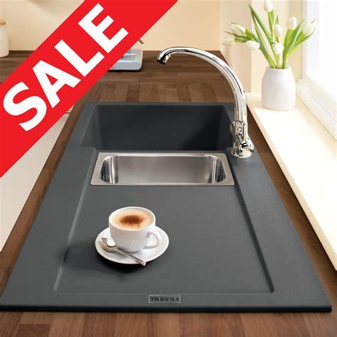 franke maris 1 5 bowl granite onyx black kitchen sink