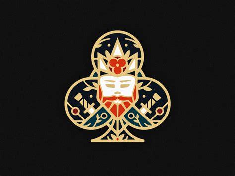 El paso's premier card club. King of Clubs | Playing cards design, Crown logo, Club design