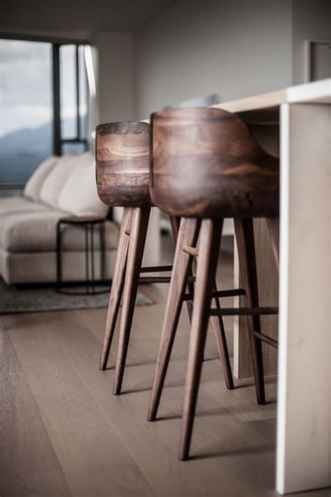 chaise de bar en bois top 7 kitchen stools with wooden base