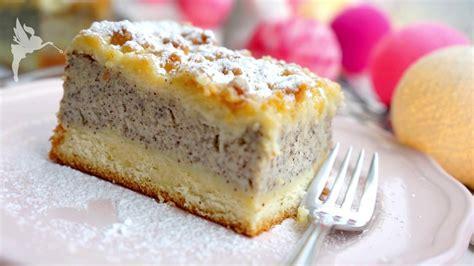 Mohn Grieß Streusel Kuchen Vom Blech