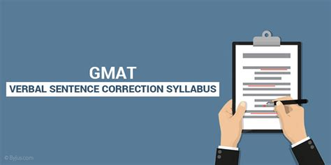 Gmat Verbal Sentence Correction (sc) Syllabus, Tips To Solve Sc Questions