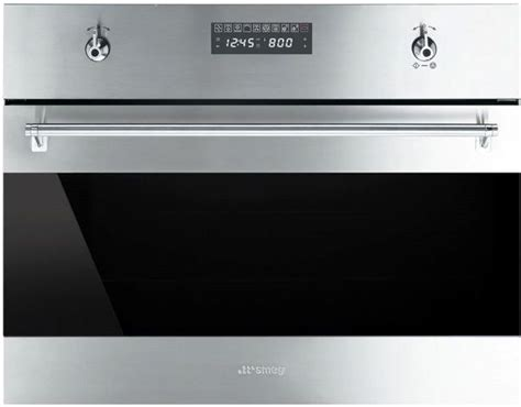 smeg  classic built  speed oven stainless steel
