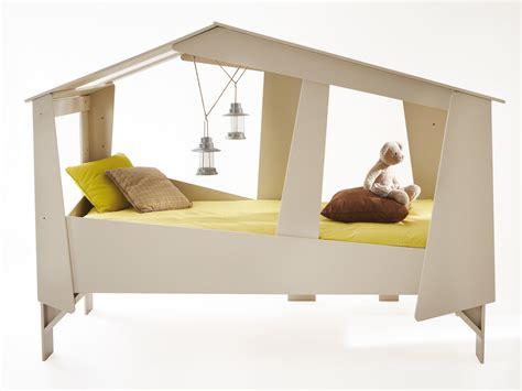 appareil de cuisine lit cabane 90x200cm beige sommier robin