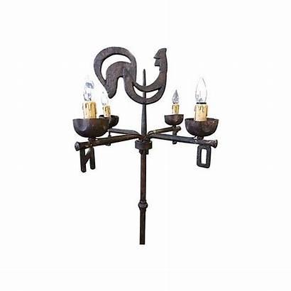 Floor Weather Antique Lamp Vane French Chairish