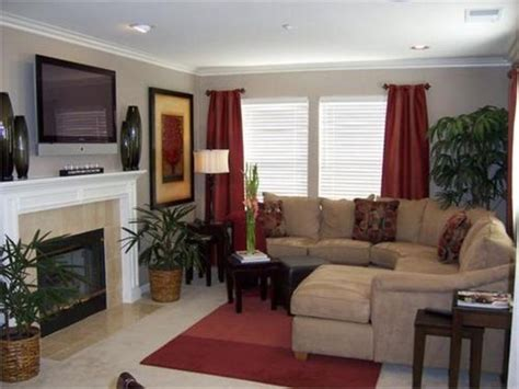 red curtains curtains living rooms  living room color