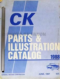 1988 Chevy  Gmc C  K Pickup Wiring Diagram Original