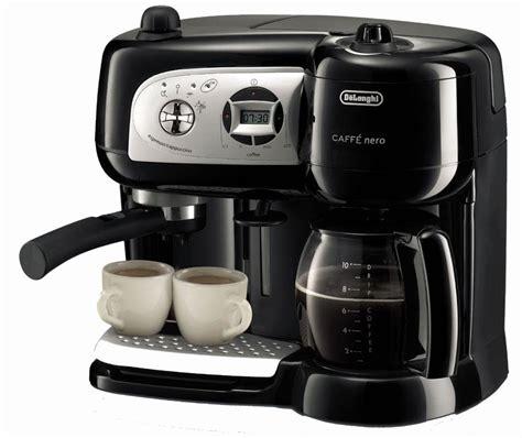 Amazon.com: Delonghi BCO264B Cafe Nero Combo Coffee and Espresso Maker: Combination Coffee